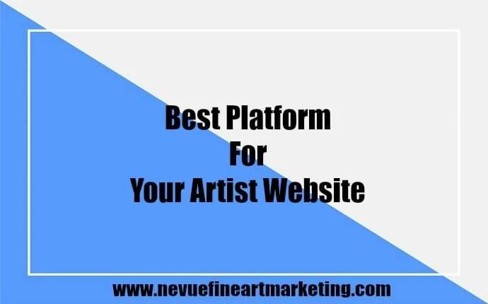 Best Platform for Your Artist Website