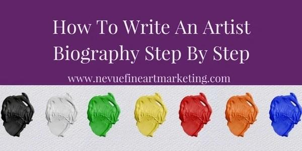 artist biography - Nevue Fine Art Marketing