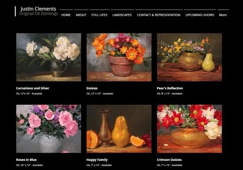 9 Artist Website Basics