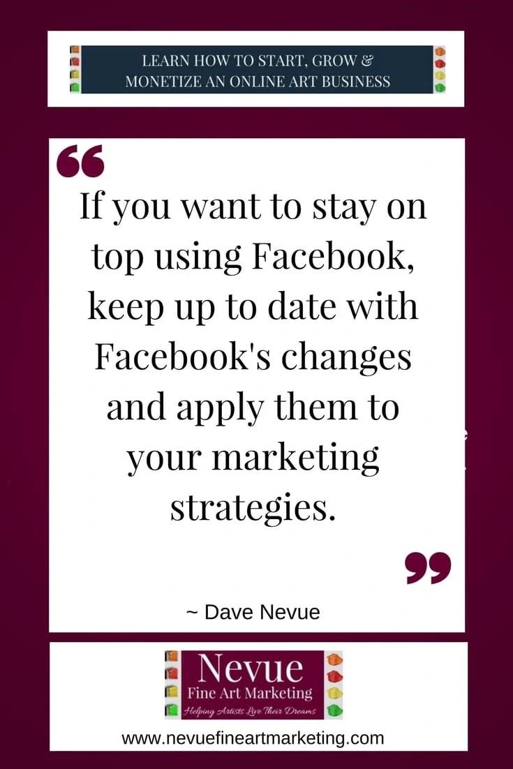 facebook marketing - Nevue Fine Art Marketing