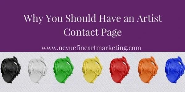 art blog - Nevue Fine Art Marketing