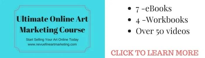 Ultimate online mart marketing course - Nevue Fine Art Marketing