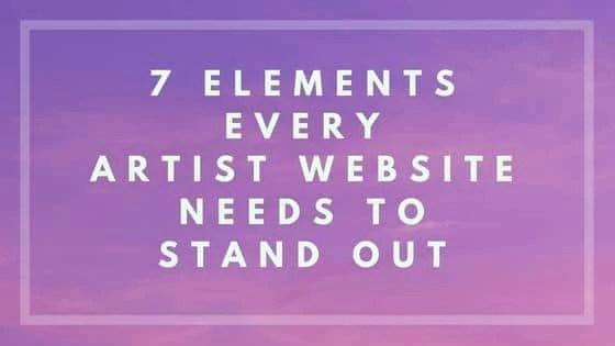 artist website - Nevue Fine Art Marketing