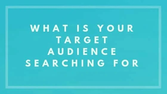 What Is Your Target Audience Searching For - Nevue Fine Art Marketing