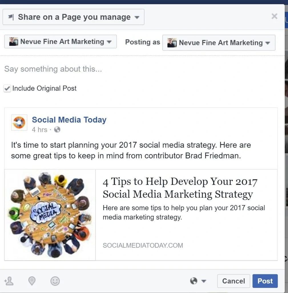 How to Use Your Facebook Business Page to Engage