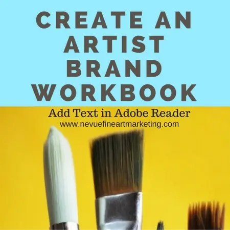 Create an Artist Brand Workbook