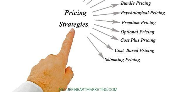 pricing art strategies