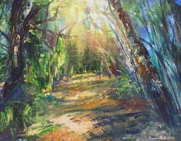 Featured Artist of The Month Susan Abell.