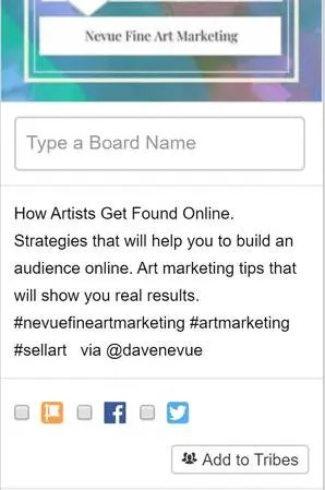 Pinterest - Nevue Fine Art Marketing