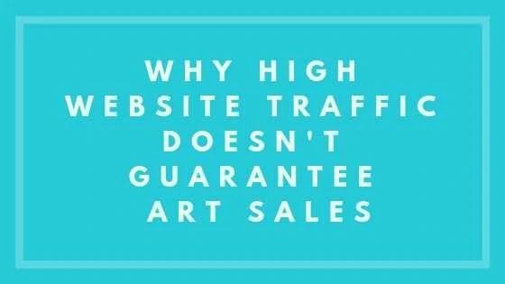 Website Traffic - nevue fine art marketing