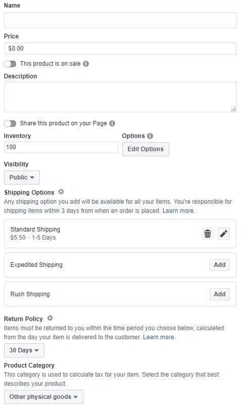 How To Add Products To A Facebook Shop