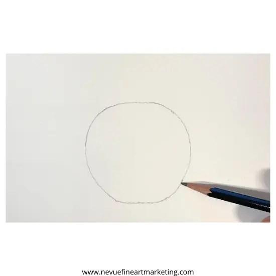 sketch a circle