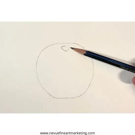 draw a v