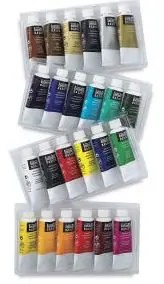 liquitex based acrylic paints