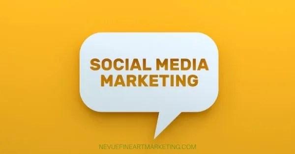 social media art marketing strategy