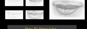 How To Draw Lips Step By Step Tutorial