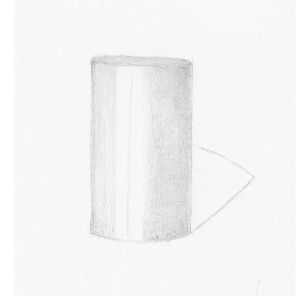 shade a cylinder step 5