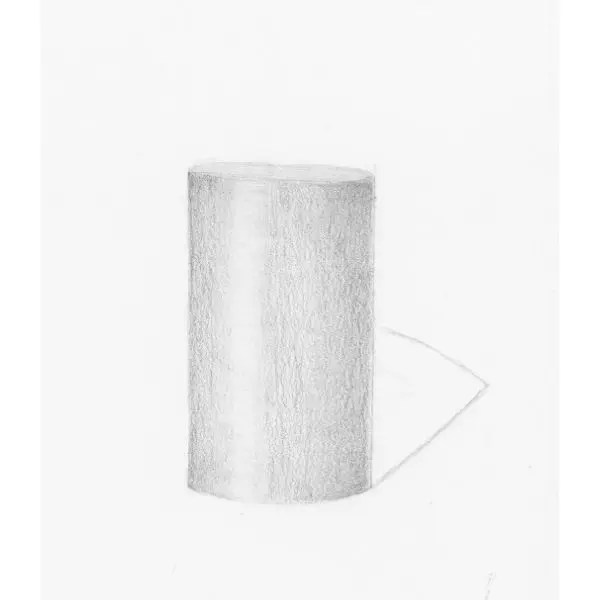 how to shade a cylinder