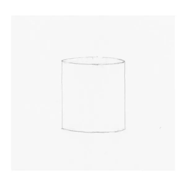 drawing of a cylinder