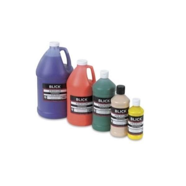 blick premium grade Tempera paints