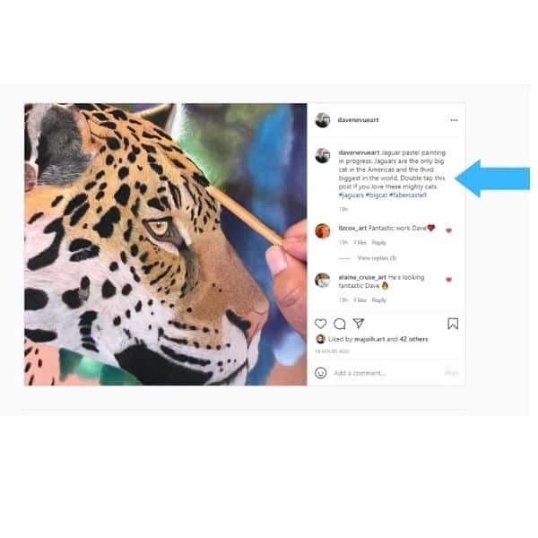 great instagram caption