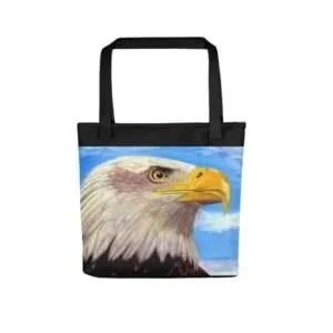 Valiant Spirit – Bald Eagle Tote bag