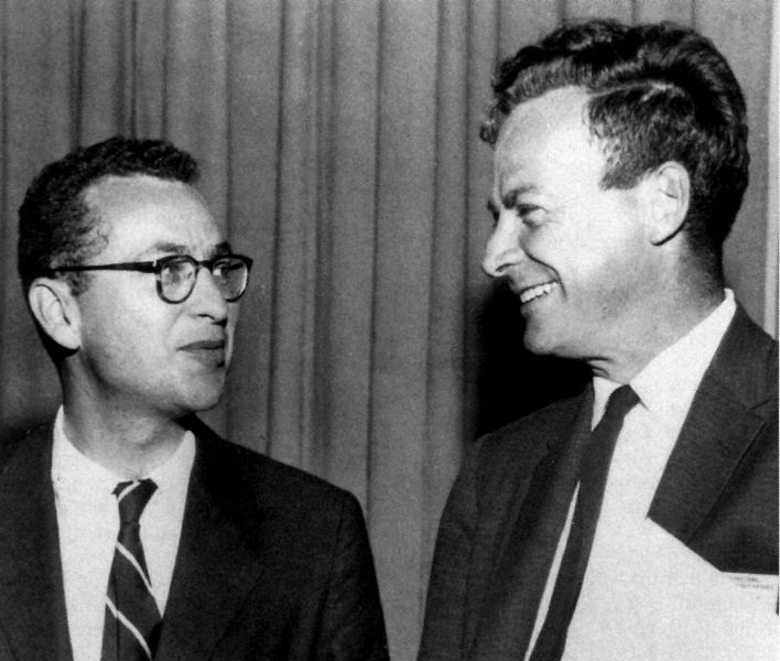 Murray Gell-Mann, Richard Feynman
