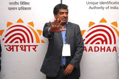 Uniquely placed Nandan Nilekani, 'CEO' of Project UID. (Photograph by Jitender Gupta)