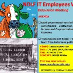 Cattle Ban, Unions – history and politics : Discussion Meeting