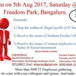 Slogans from Bangalore IT Professionals
