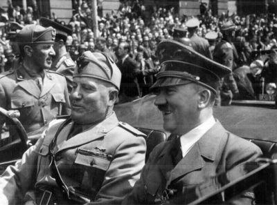 Hitler, Mussolini