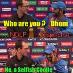 Dhoni – Not a Cricketer, a Corrupt Corporate Stooge!