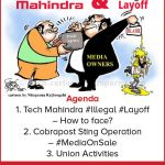 Tech Mahindra Layoff, Cobrapost Sting Operatoin – Monthly Union Members Meeting Jun 2018