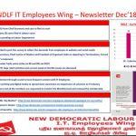NDLF IT Employees Wing – Newsletter Dec 2018