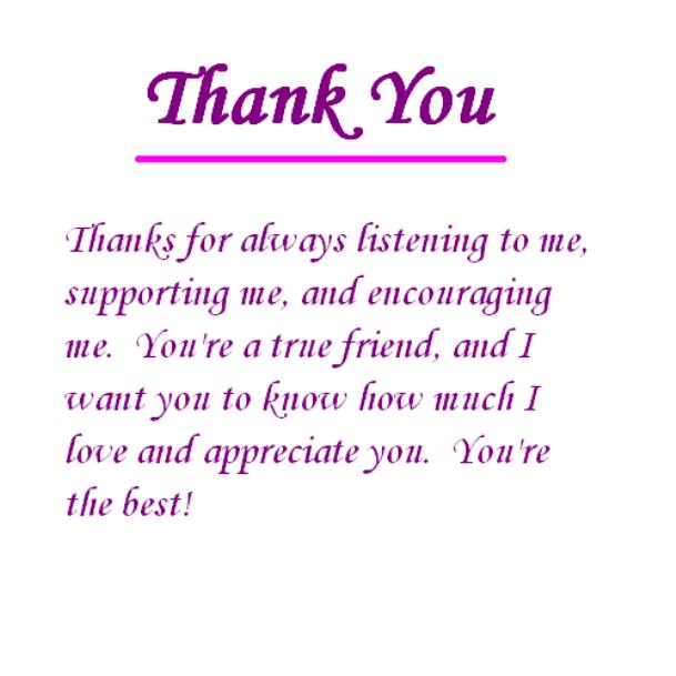 كلام شكر للمعلمة بالانجليزي