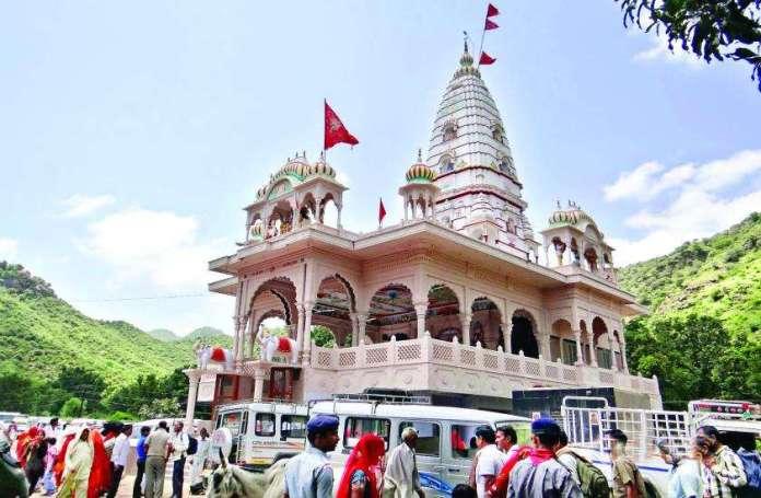 Lohargal surya mandir in Rajasthan