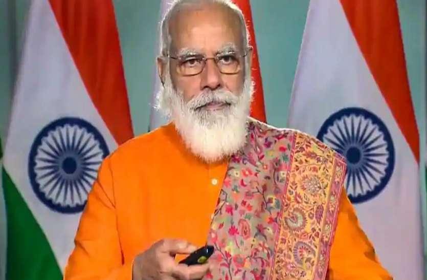 Varanasi PM Modi today Virtually Varanasi public Will give Diwali gift -  Granthshala News