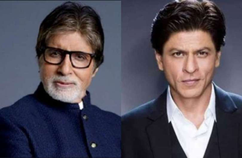 What is it that Shahrukh Khan has but Amitabh Bachchan does not