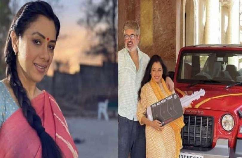 Anupama' fame Rupali Ganguly bought Mahindra's new Thar