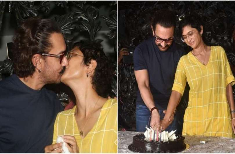 aamir khan and kiran rao both have kissed each other many times