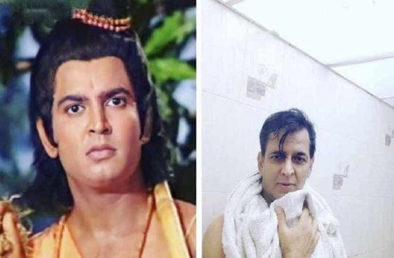 Ramayana Fame Actor Sunil Lahri Shared Bathroom Pic