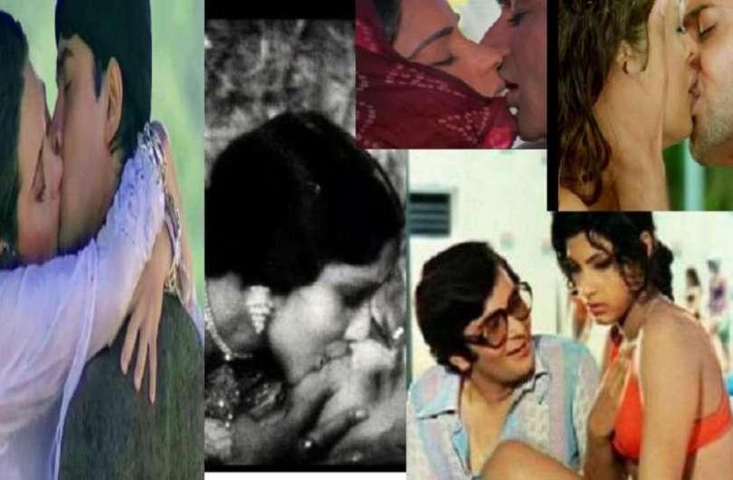 100 years of cinema history of Kissing scene on screen