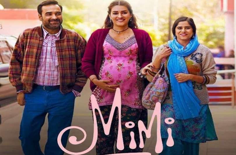 Kriti Sanon and Pankaj Tripathi starrer film Mimi's trailer out