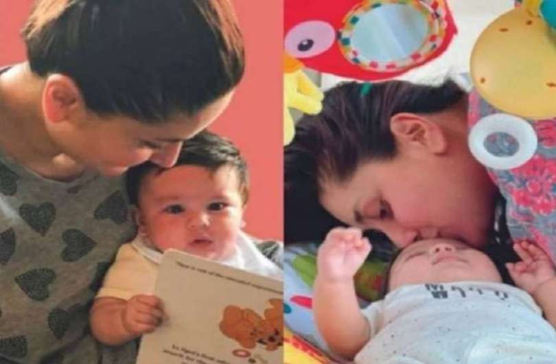 Picture of Kareena Kapoor and Saif Ali Khan's second son Jeh surfaced