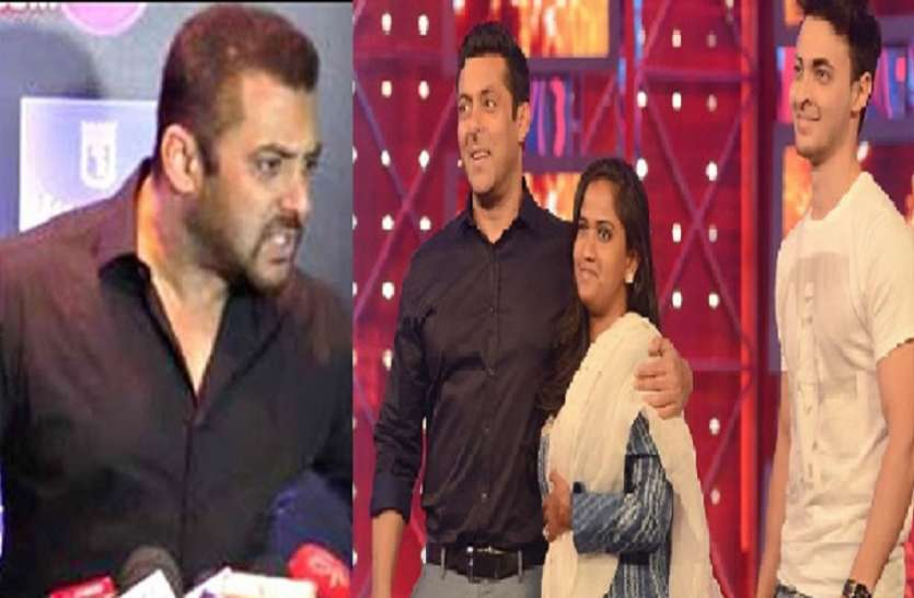 Salmankhan warned aayush sharma to stay away from his quality