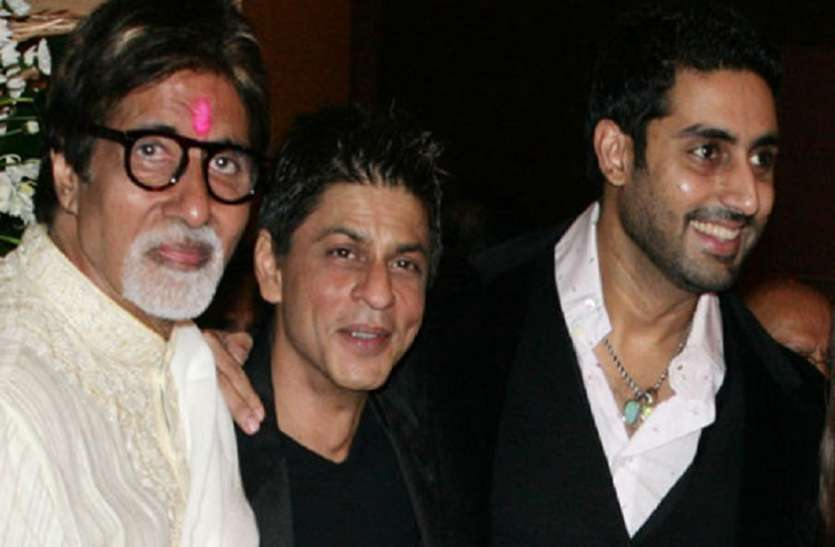 When Shahrukh Khan told Abhishek Bachchan in front of Amitabh Bachchan – his father could not teach then ..
