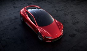 2021 Tesla Roadster with new exterior style design