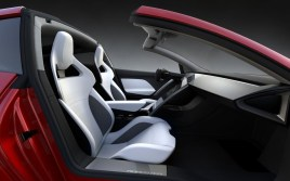 2021 Tesla Roadster with new interior style design