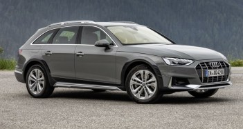 2021 Audi A4 Allroad with new exterior