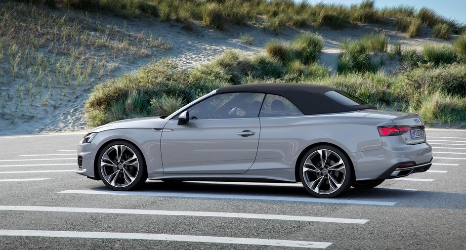 2021 Audi A5 powered with new engine